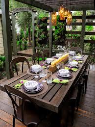 Outdoor Table Decor Decor Outdoor Table Decoration To Entertain Fall Entertaining