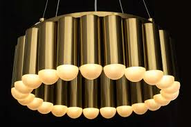 Royal Pendant Light Gold Neuerraum