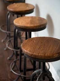 rustic bar stools. Rustic Bar Stools Round A