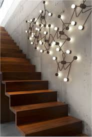Wall Decor Stairway Wall Decorating Ideas Design Basement pertaining to  proportions 752 X 1119