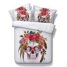 Skull Bedroom Skull Bedroom Set Promotion Shop For Promotional Skull Bedroom Set