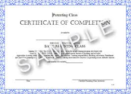parenting certificate templates online parenting classes nationally approved online divorce