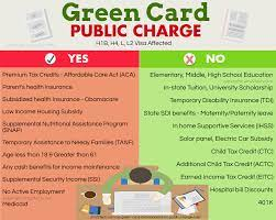 Lawful permanent residents (lpr/green card holder). Green Card Public Charge Rule Removed H1b I485 Usa
