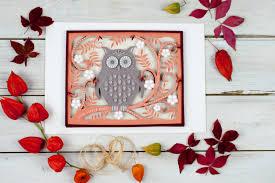 paper cut wall art