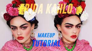 frida kahlo inspired makeup tutorial