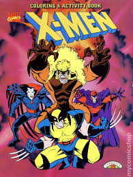 See more ideas about x men, cyclops x men, cyclops. X Men Coloring And Activity Book Sc 1996 Landoll S Comic Books