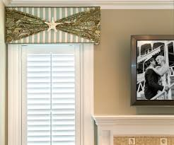 cornice window treatments. Beach House Cornice Window Treatment Beach-style-living-room Treatments C