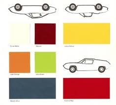 Nexa Auto Color Chart Lotus Elan Sprint Paint Colours