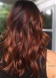 dark hair colors deep red auburn hair colors