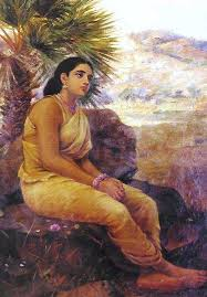 paintings of elegant selected paintings of raja ravi varma part 3 abhisays