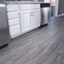 gray porcelain tile kitchen. Delighful Gray SnapStone Weathered Grey 6 In X 24 Porcelain Floor Tile 5 Sq Ft   Case110340602  The Home Depot Intended Gray Kitchen H