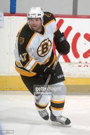 Eric Nicklaus of the Boston Bruins skates before the game against ...