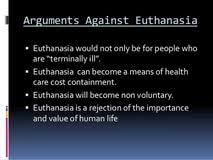 essay argument euthanasia essay argument