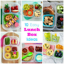 10 Easy Lunch Box Ideas Happy Home Fairy