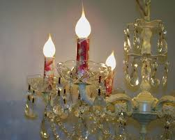crystal chandelier candle covers
