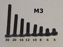 Metallschrauben werden hauptsächlich im metallgewerbe genutzt und wurden auch dort entwickelt. 50stk Bohrschraube M3 Versenkt Selbstschneidende Schrauben Senkkopfschraube