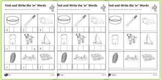 There are differences in opinion about whether using phonics is useful in teaching children to read. Or Sound Phonics Words Worksheet Teacher Made