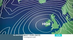 Central Weather High Pressure Settles Weekend Weather