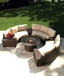 semi circle patio furniture peachy ideas semi circle patio furniture stylish outdoor seating throughout circular outdoor