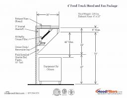 food truck floor plans. Food Truck Floor Plan Beautiful 4 Hood System Plans A