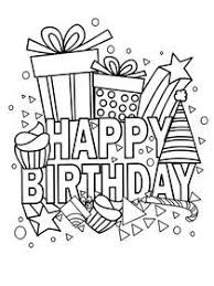 Ideas for those who love to coloring and drawing. Free Printable Birthday Coloring Cards Cards Create And Print Free Printable Birthday Coloring Cards Cards At Home