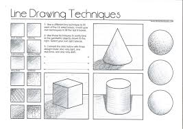 There are standard drawing techniques that you need to be familiar with as you put pencil to paper. Line Drawing Techniques Jevans Game Design