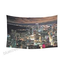 city wall art home decor chicago urban skyline panorama view with skysers and cloudy sky at