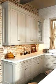 kitchen with red brick wall the most best brick wall kitchen ideas on exposed pertaining to