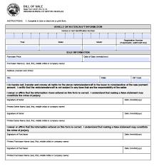 indiana vehicle bmv bill of 44237