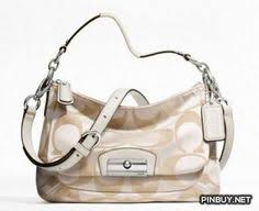 Coach Kristen Signature Crossbody Bag Silver-khaki-gold, F22302 - PinBuy Coach  Purses