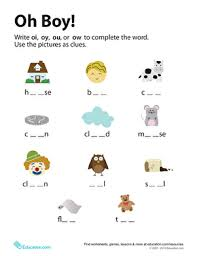 Phonics worksheets ou and ow worksheet 1 ou and ow worksheet 2 oi. Word Families Ow And Ou Education Com