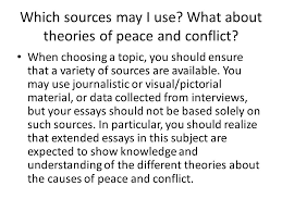 an essay on peace can you help me write an essay extended essay outline example