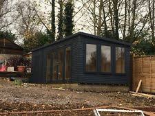 home office in garden. 20ft X 10ft Garden Room Home Office Annex Summer House Man Cave In