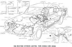 ford mustang wiring diagram vehiclepad 1966 mustang wiring diagrams average joe restoration