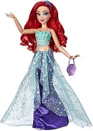 Disney Princess Designer Dolls 2018 Disney Princess Style Series Ariel Doll In Contemporary Style With Purse Shoes