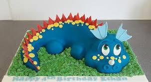 Dragondinosaur Cake Puttycakes