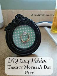 ring holder great mother s day gift easydiy thriftygifts gifts diy diygifts crafts mothersdaycraft