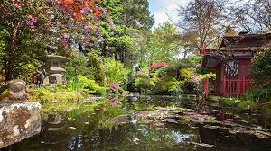 Japanese Garden Design for Tranquil and Relax House Ambience