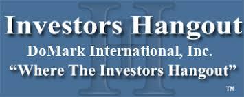 Domk Stock Message Board Domark International Inc