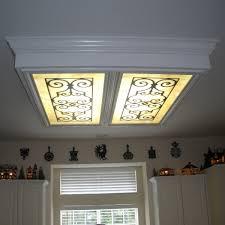 fluorescent light fixture covers