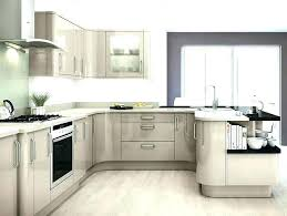 33 pleasant design shiny kitchen cabinets white glossy high gloss cabinet doors gray