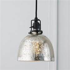 mercury glass lighting fixtures. Ribbed Dome Mercury Glass Shade Pendant Light - Ordered!! For Over The Sink In Lighting Fixtures C