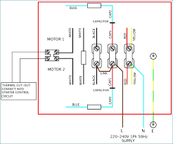 How to Wire An Electric Motor Single Phase Unique Capacitor Start