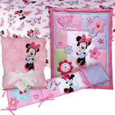Minnie Mouse 4 PC. Crib Set with Sheet & Blanket Baby Bundle ... & Minnie Mouse 4 PC. Crib Set with Sheet & Blanket Baby Bundle Adamdwight.com