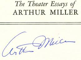the theater essays of arthur miller st edition st printing  the theater essays of arthur miller 1st edition 1st printing arthur miller