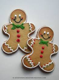 Gingerbread Cookie Designs Christmas Cookie Collection 2009 Christmas Gingerbread