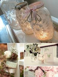 Mason Jar Decorations For A Wedding mason jar wedding and Ty says he likes Wedding Pinterest 64