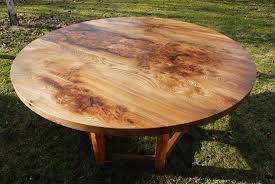 Yew Dining Room Furniture Circular Elm Amp Yew Dining Table Real Wood Studios