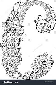 If your kids like to color, these alphabet coloring pages are sure to please! Letter C Coloring Pages For Adults Page 1 Line 17qq Com