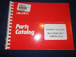 isuzu 3ka1 3kb1 3kc1 engine parts book manual 5 88710 206 6 isuzu 3ka1 3kb1 3kc1 engine parts book manual 5 88710 206 6